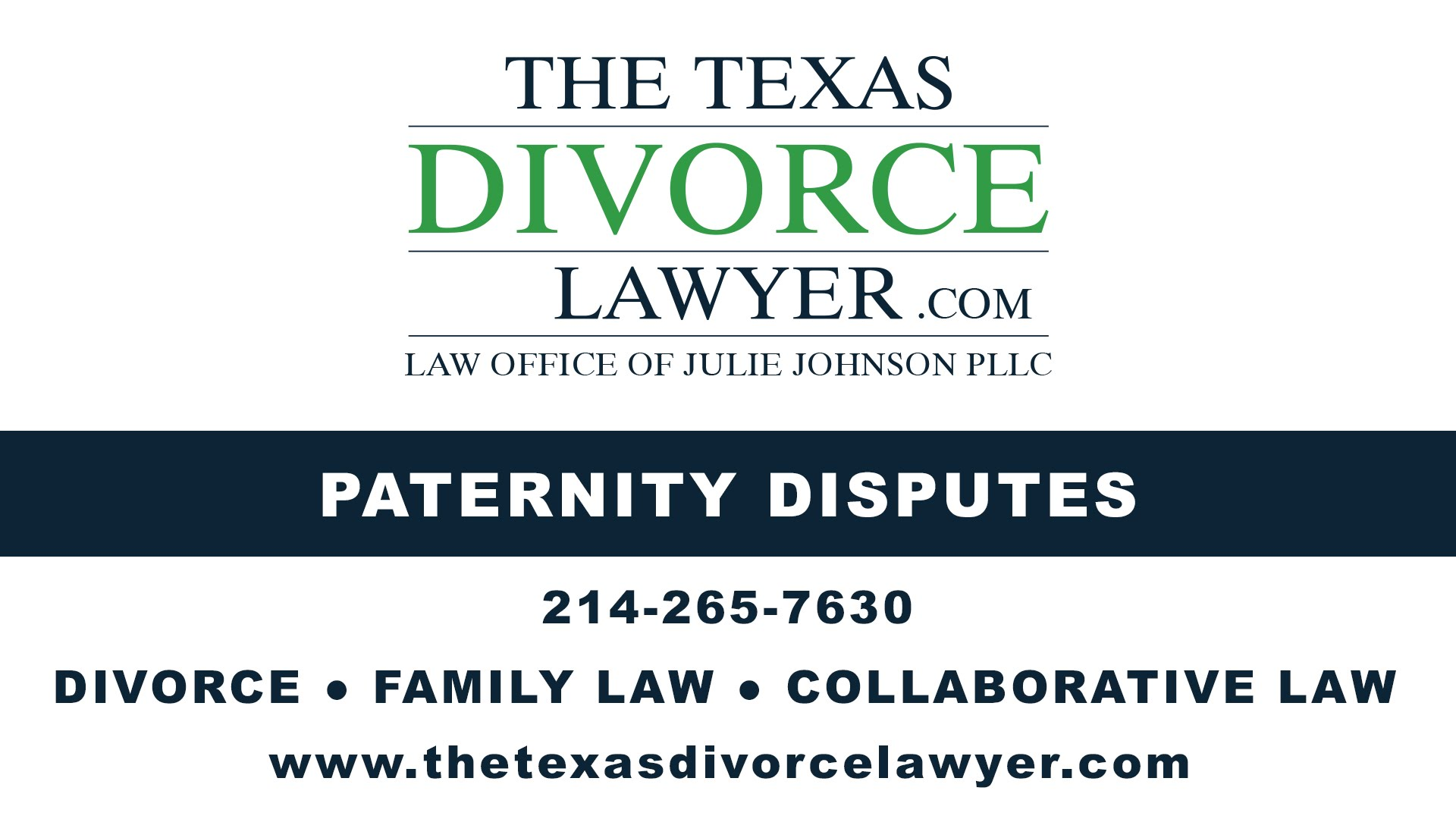 Dallas Paternity Support Attorney The Texas Divorce Lawyer